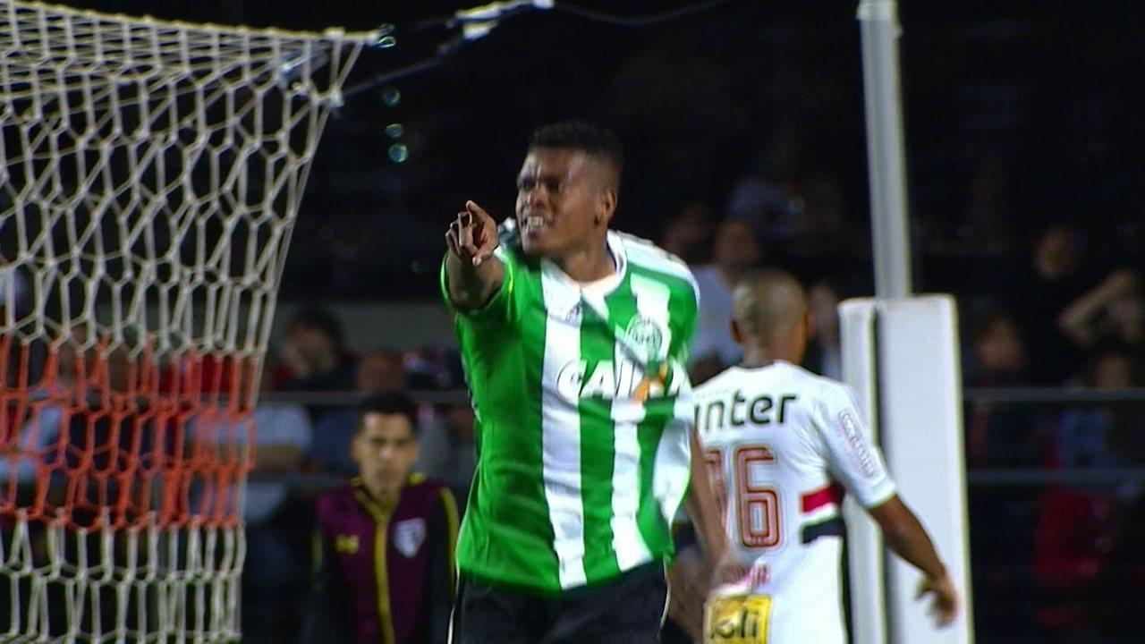 Veja o gol do Filigrana pelo Coritiba