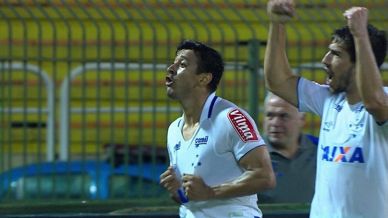 Gol do Cruzeiro! Robinho faz linda jogada, e amplia o placar, aos 42' do 2º tempo