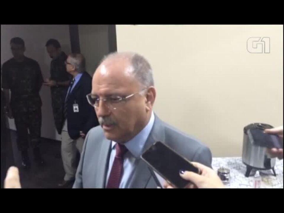 General Sergio Etchgoyen fala sobre a questão da segurança nas Eleições 2018 no RJ