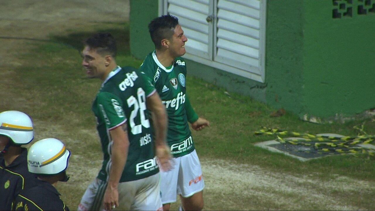 Em 2016, uma das armas do Palmeiras campeão brasileiro foi o arremesso lateral de Moisés à área