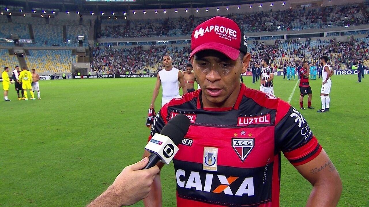 Walter comenta situação do Atlético-GO após mais uma derrota na Série A
