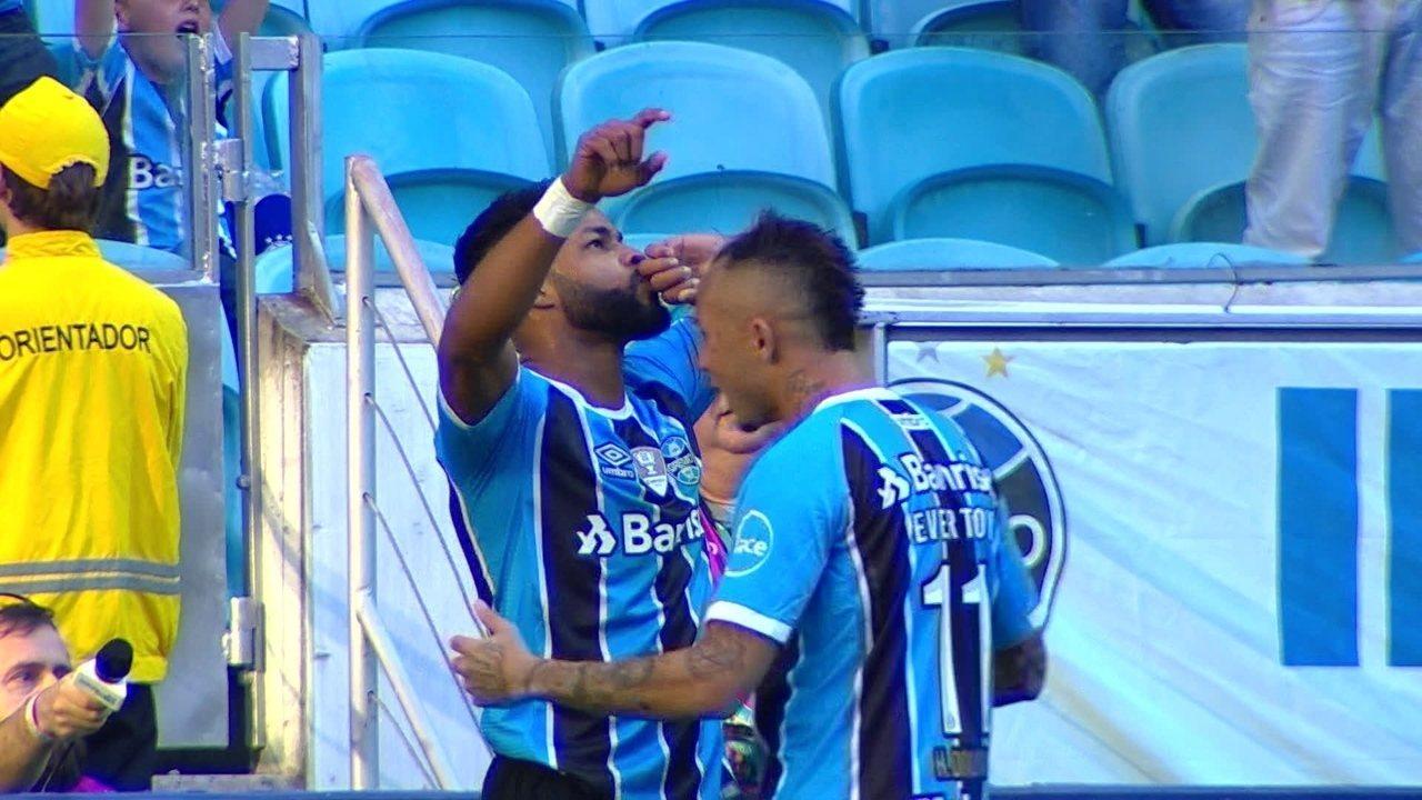 Melhores momentos: Grêmio 2 x 0 Atlético-MG pela 19ª rodada do Brasileirão 2017