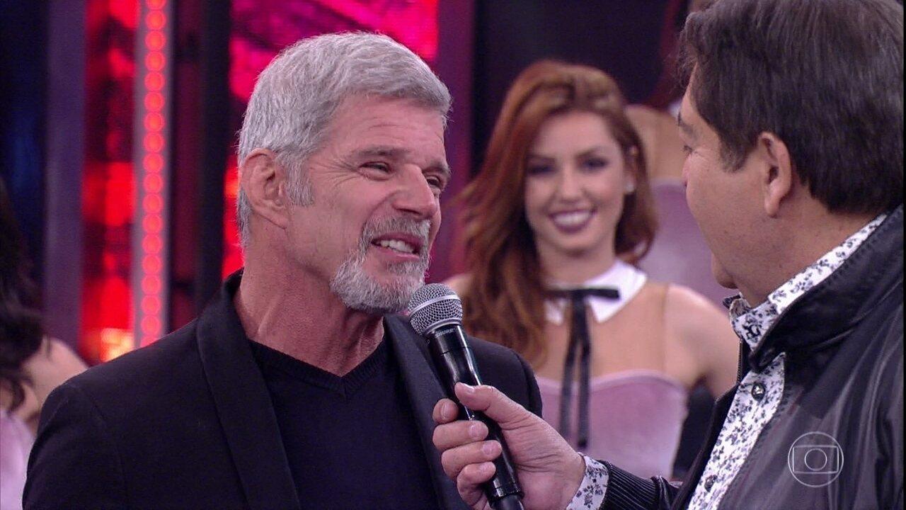 Raul Gazolla está no 'Dança dos Famosos'