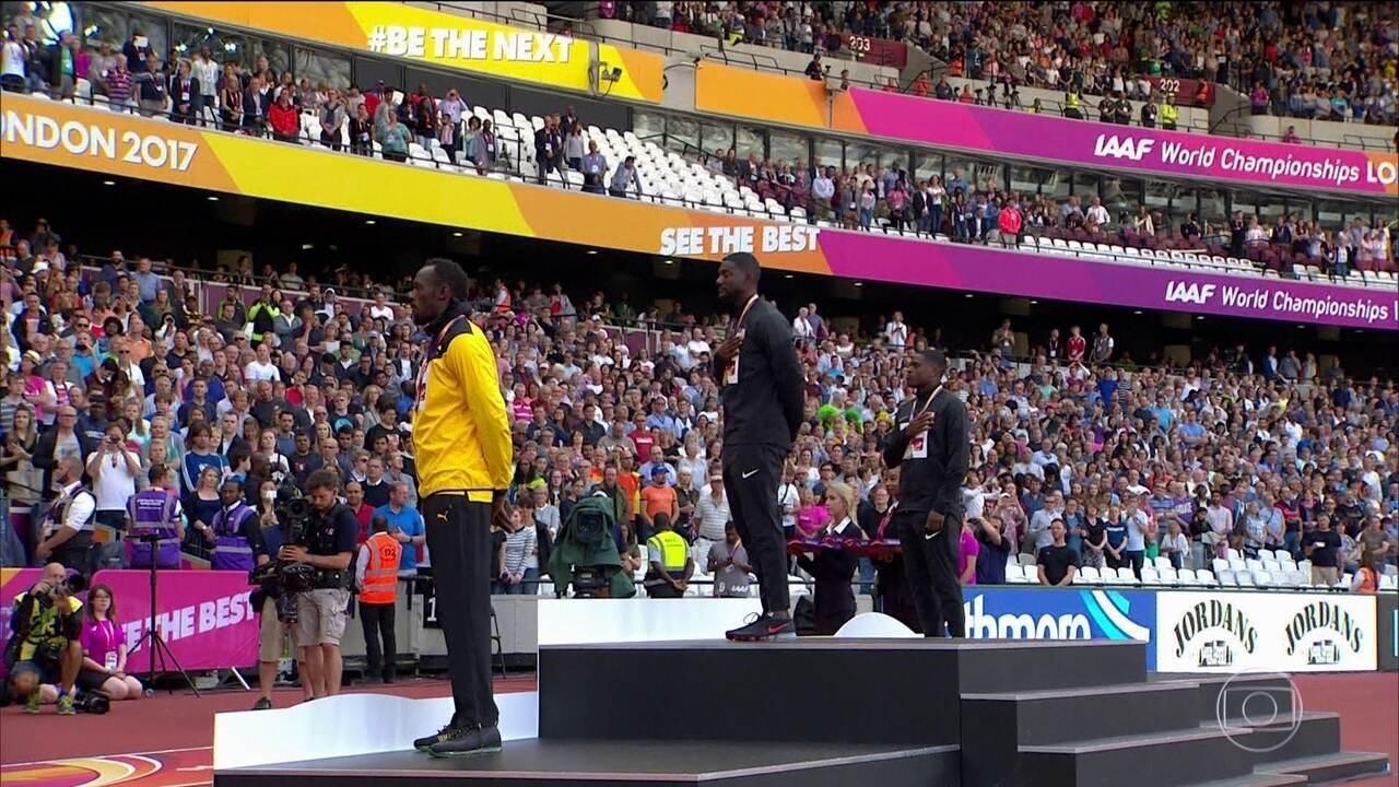 Usain Bolt fica com o bronze no 100m rasos no Mundial de Atletismo