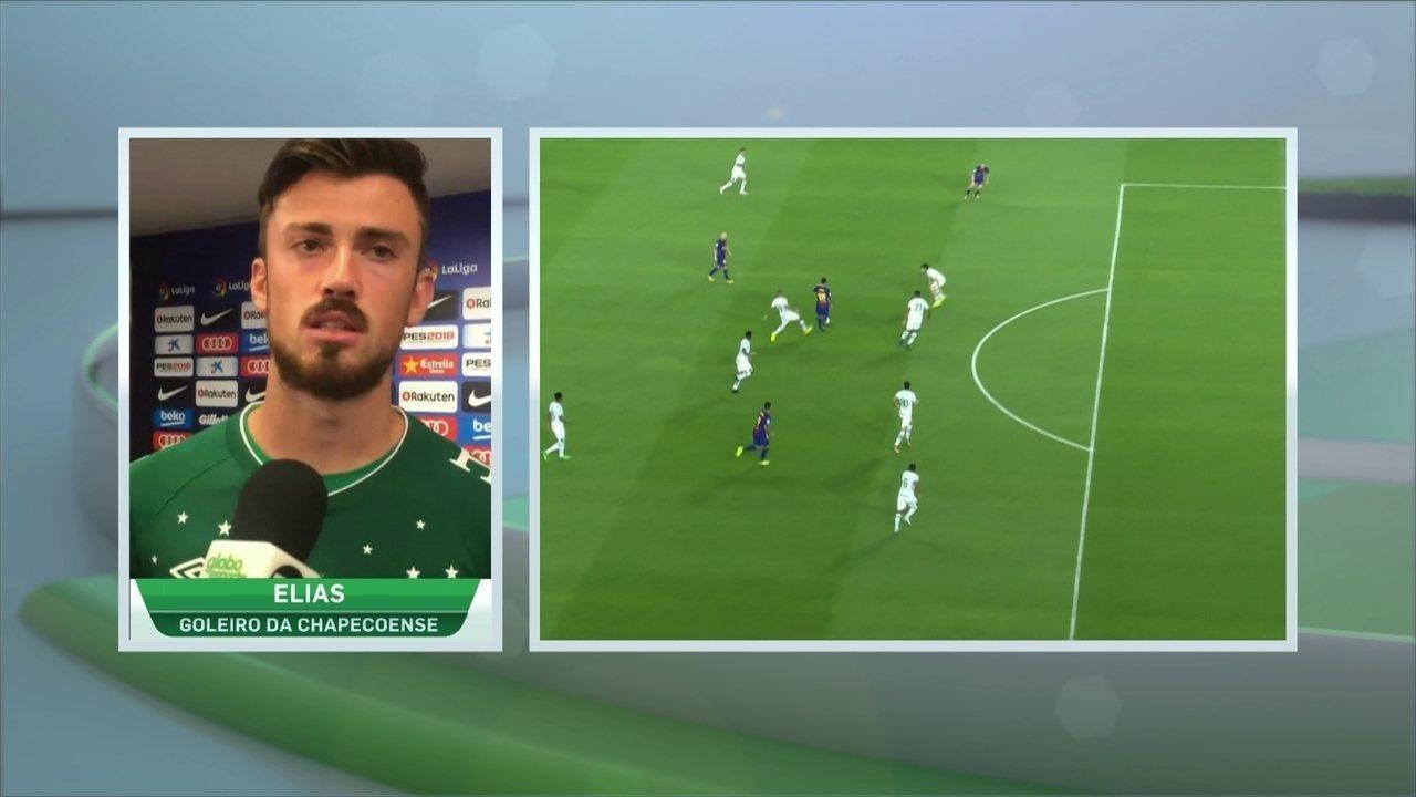 Follmann analisa jogo e Elias comenta defesas difíceis contra o Barcelona 0bf3a0796e79c