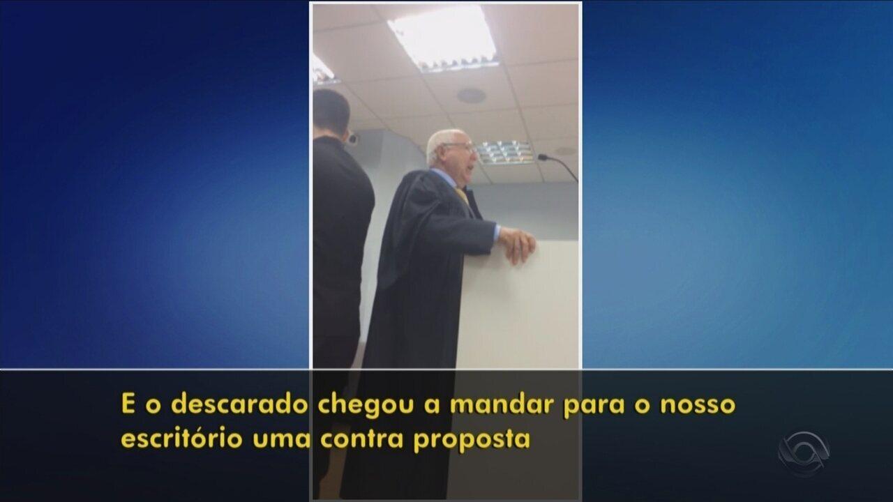 Resultado de imagem para TJ dá prazo para advogado e desembargador se explicarem após acusação durante sessão em SC