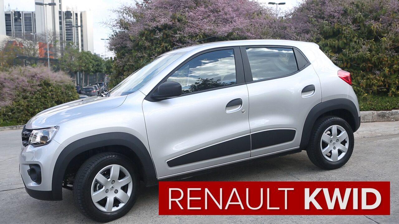 Renault Kwid Zen é boa novidade para quem busca custo-benefício