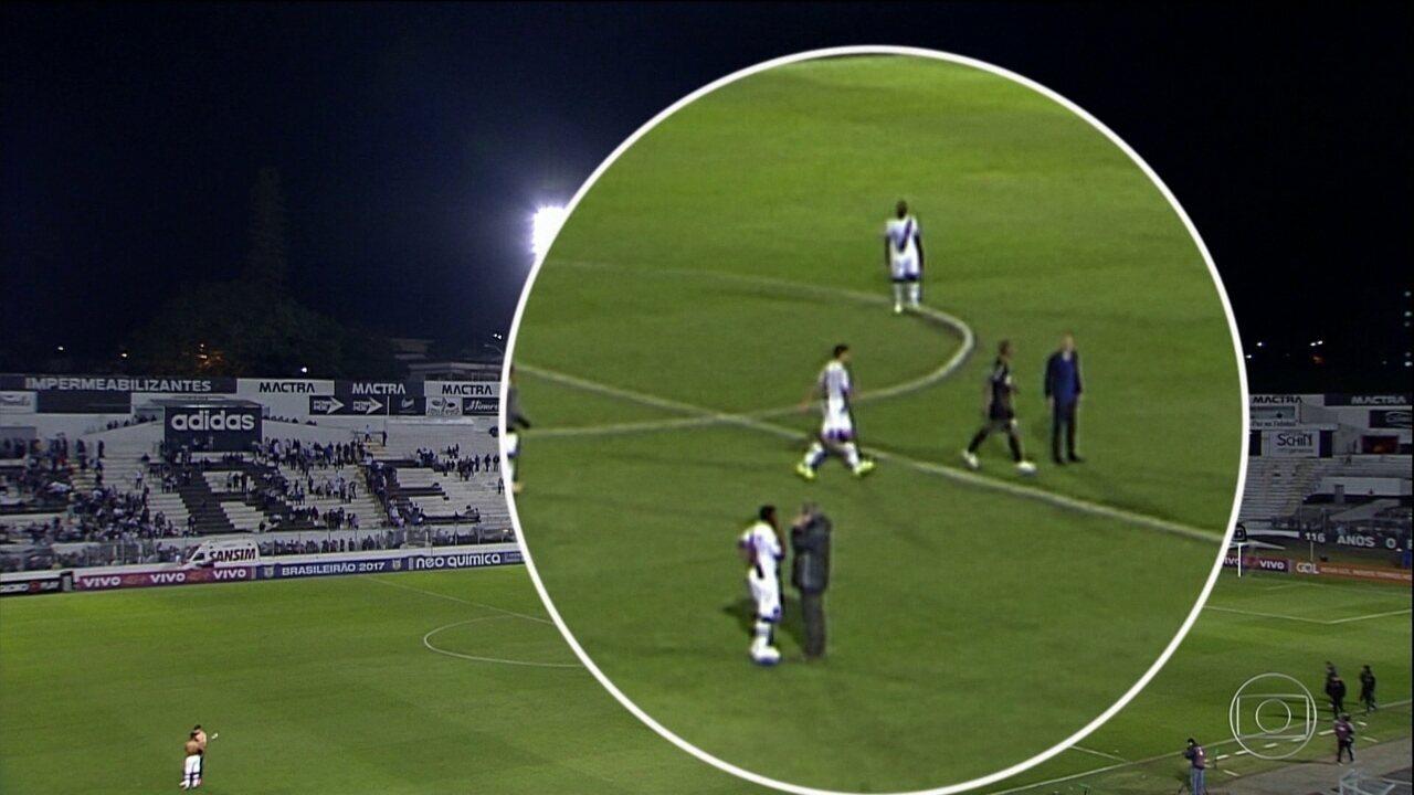 Luis Fabiano destaca reação do Vasco em retorno ao time após empate