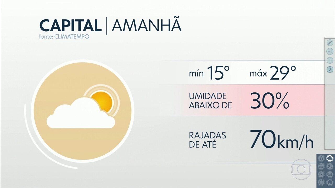Confira a previsão do tempo para a quarta-feira (9) em São Paulo
