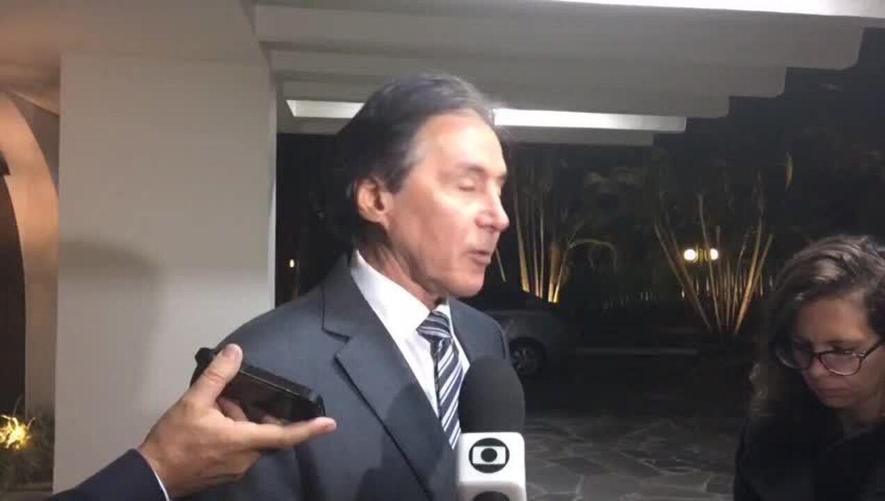 Após jantar, Eunício diz que há consenso sobre 'distritão' em 2018