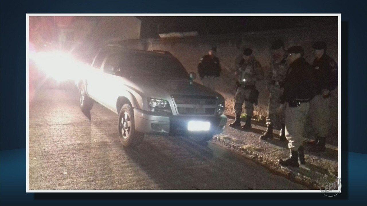 Suspeitos de manter família refém por quase 2h são presos em Poços de Caldas
