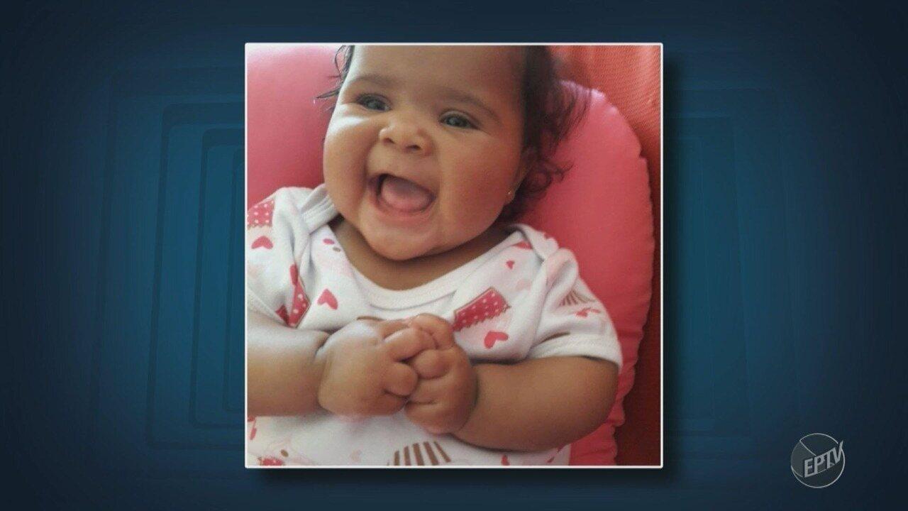 Bebê que morreu em creche de Campinas será enterrada nesta quinta-feira
