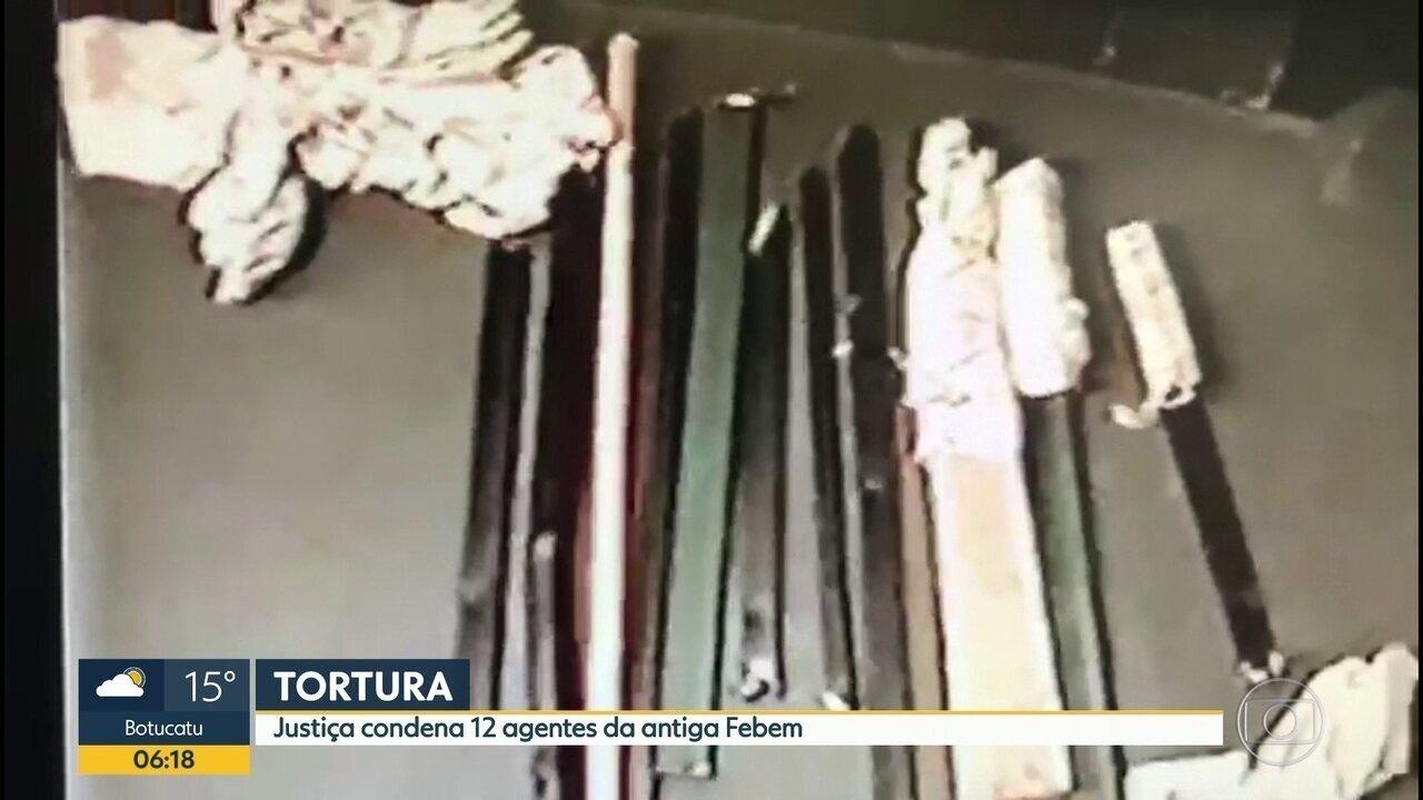 Justiça condena 12 funcionários da antiga Febem por crime de tortura em 2005