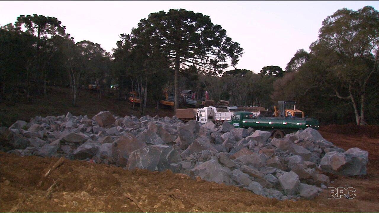 Nova detonação de rochas na BR-277 deve atrasar a viagem de muitos motoristas