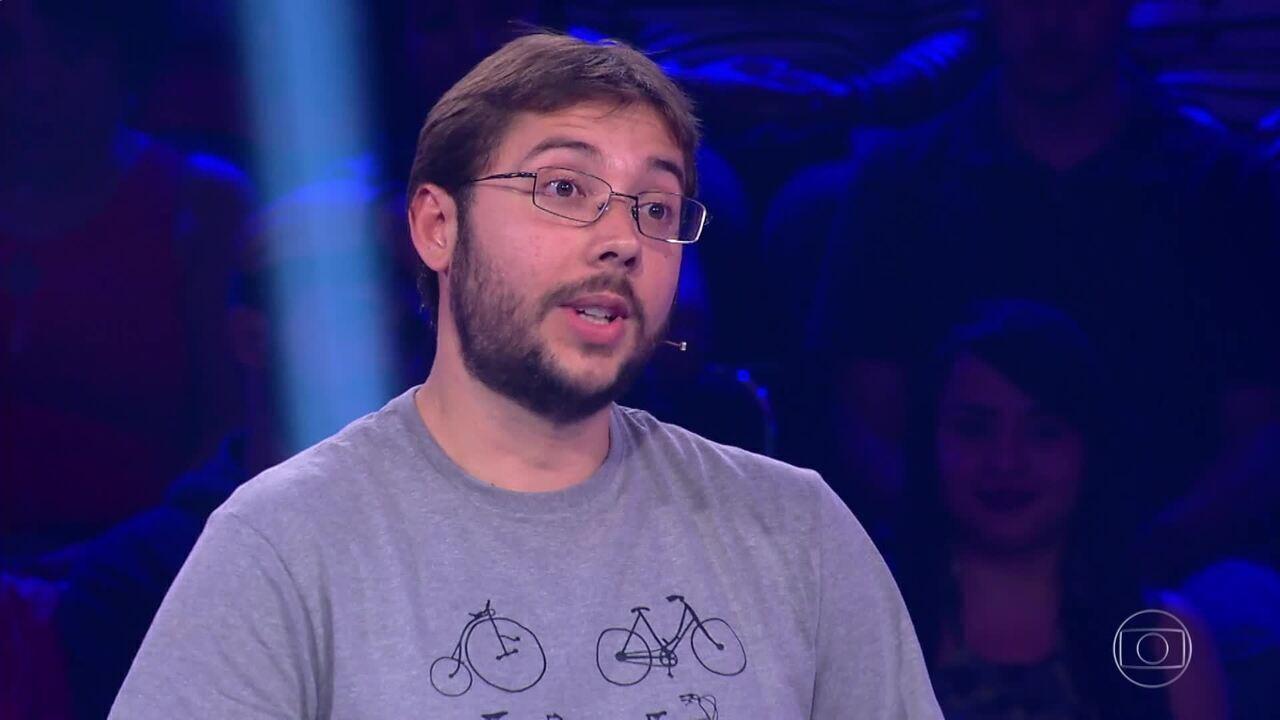 Felipe Aragonez fatura R$ 5 mil no 'Quem Quer Ser Um Milionário?'