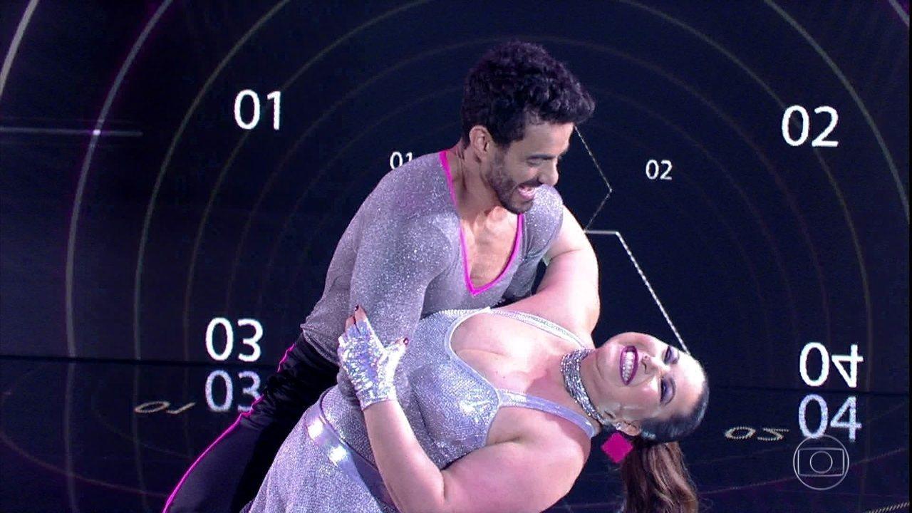 Mariana Xavier arrasou na pista do 'Dança dos Famosos'