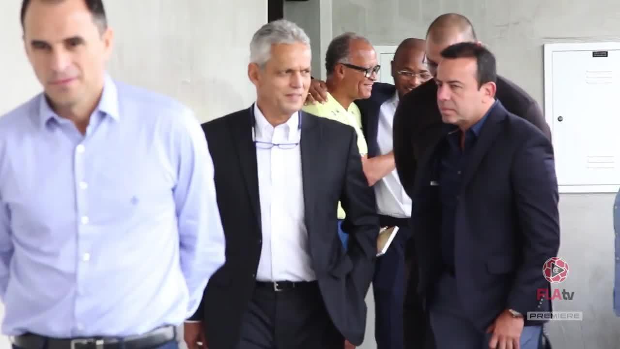Colombiano Reinaldo Rueda é apresentado como técnico do Flamengo