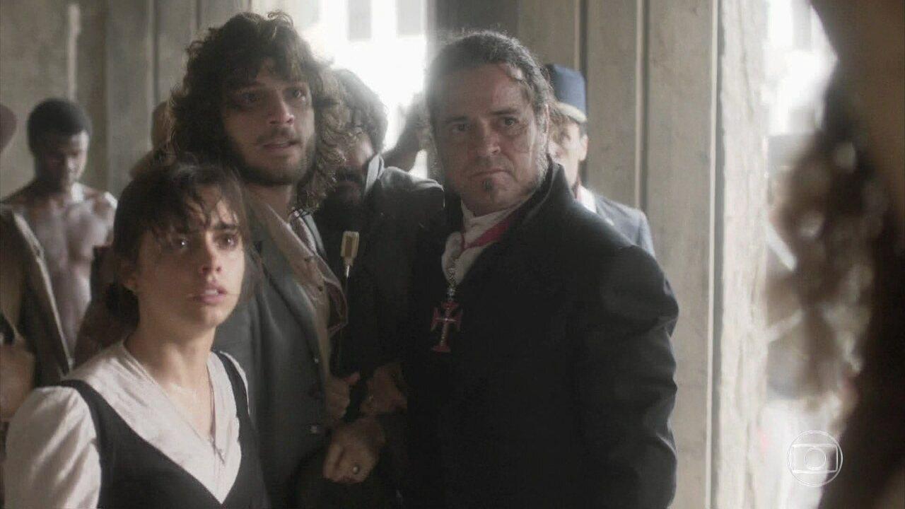 Peter, Joaquim e Bonifácio enfrentam Sebastião