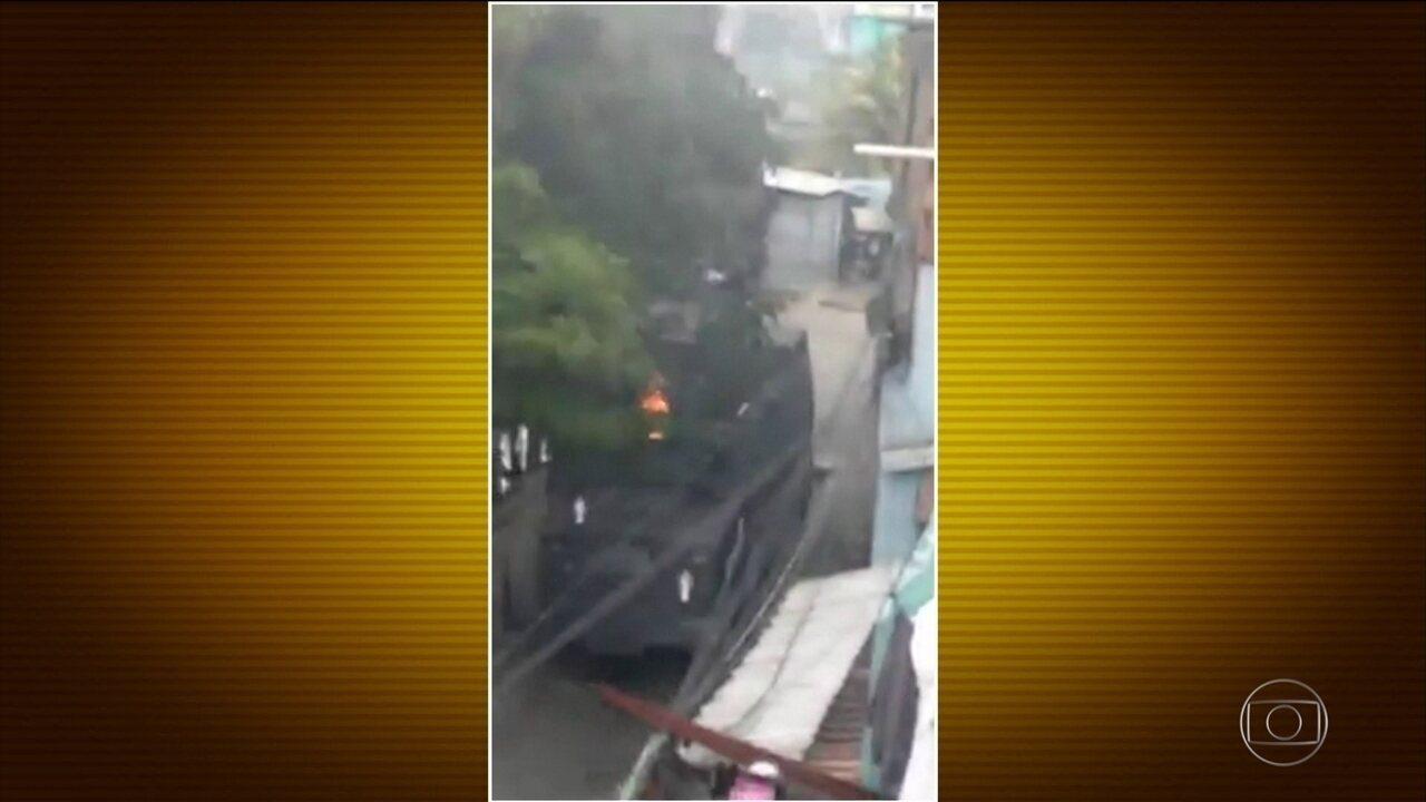 Morador morre em tiroteio na comunidade do Jacarezinho, no Rio