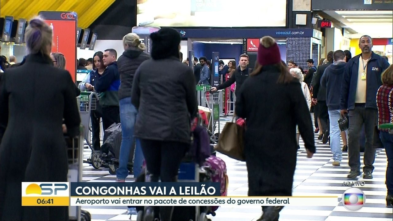 Aeroporto de Congonhas será leiloado