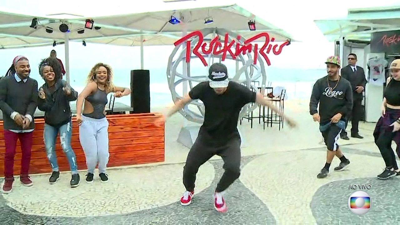 Rock in Rio inaugura quiosque oficial em Copacabana