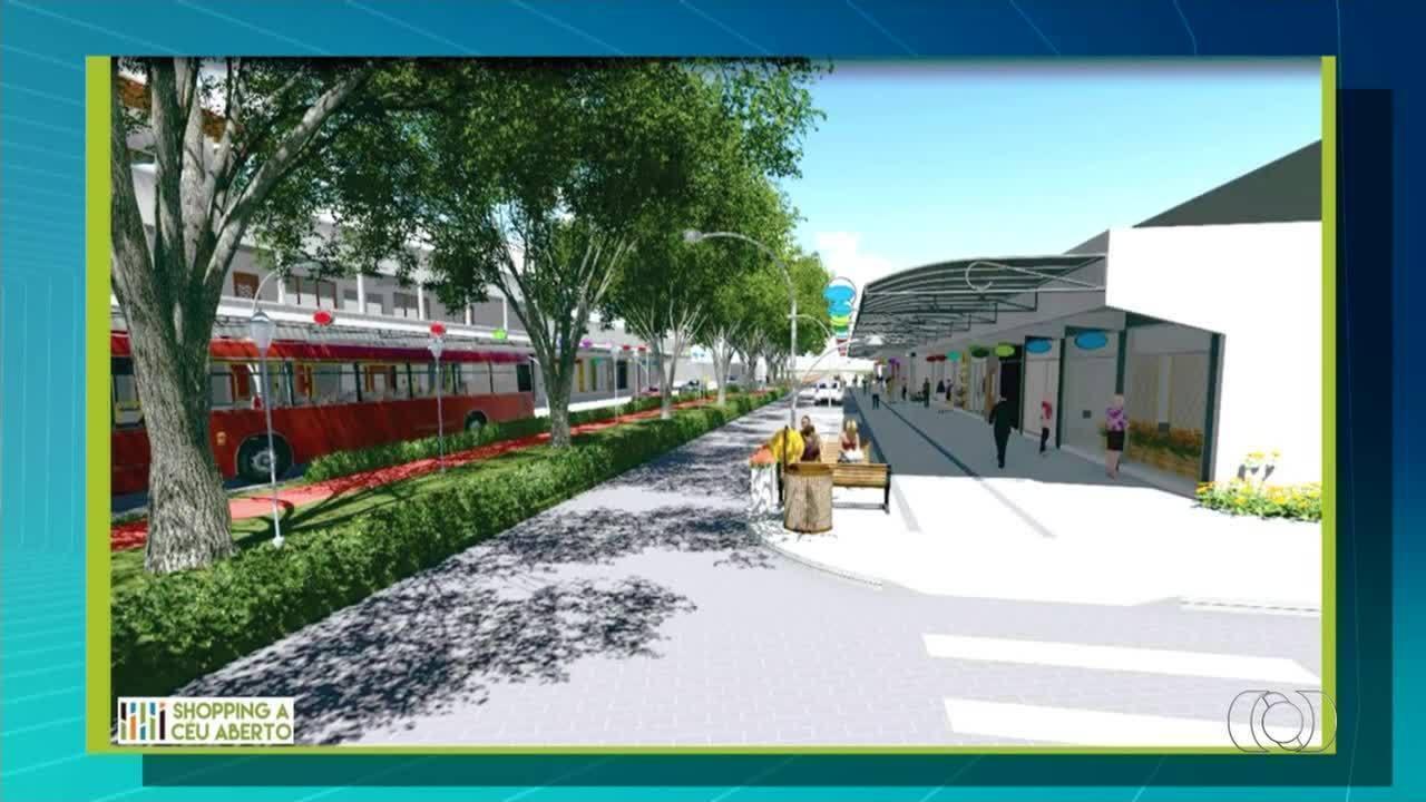 Veja o projeto e como deve ficar o shopping a céu aberto em Taquaralto
