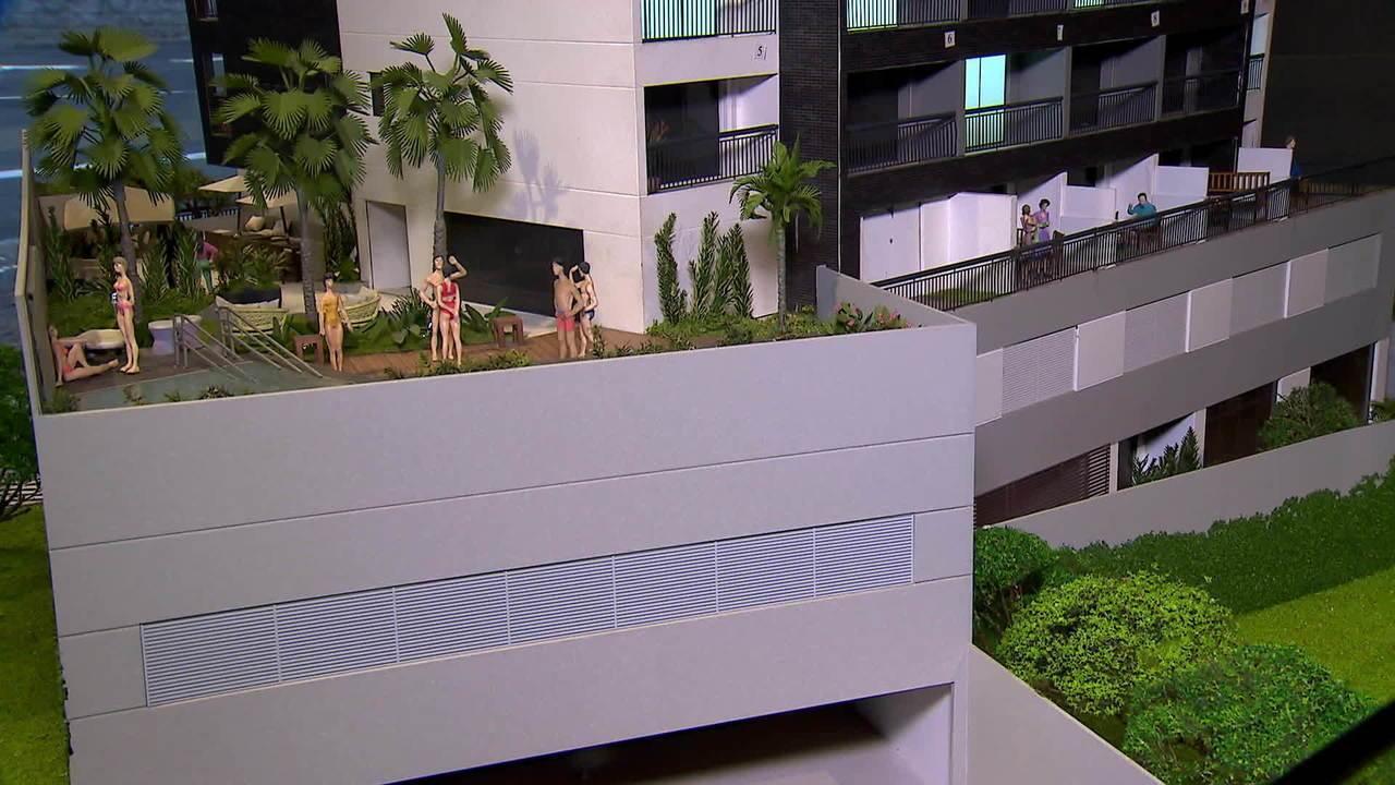 Mercado imobiliário vê o retorno de pequeno investidor