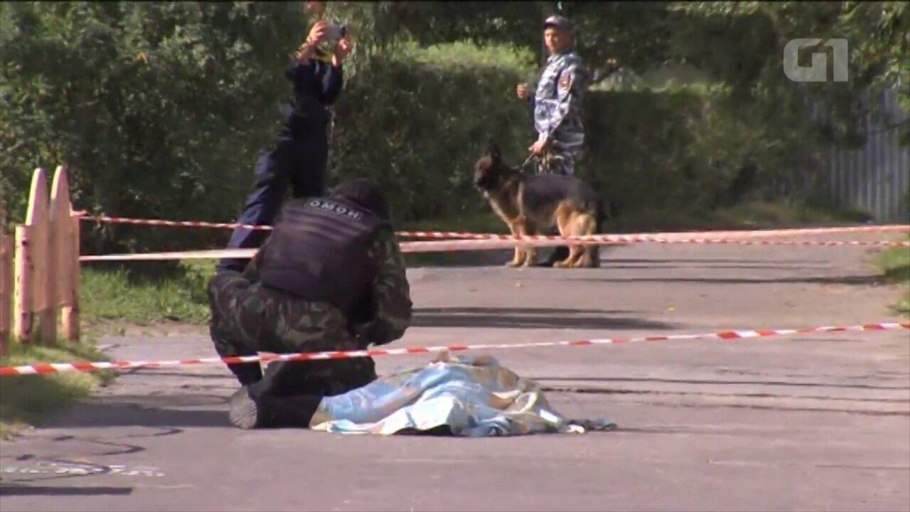 Homem armado com faca ataca e fere 8 pessoas na Rússia