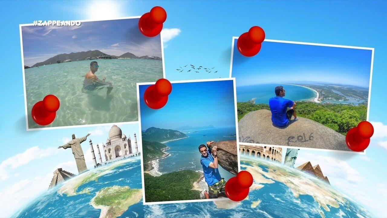 #Zapp: Conheça histórias de pessoas que amam viajar