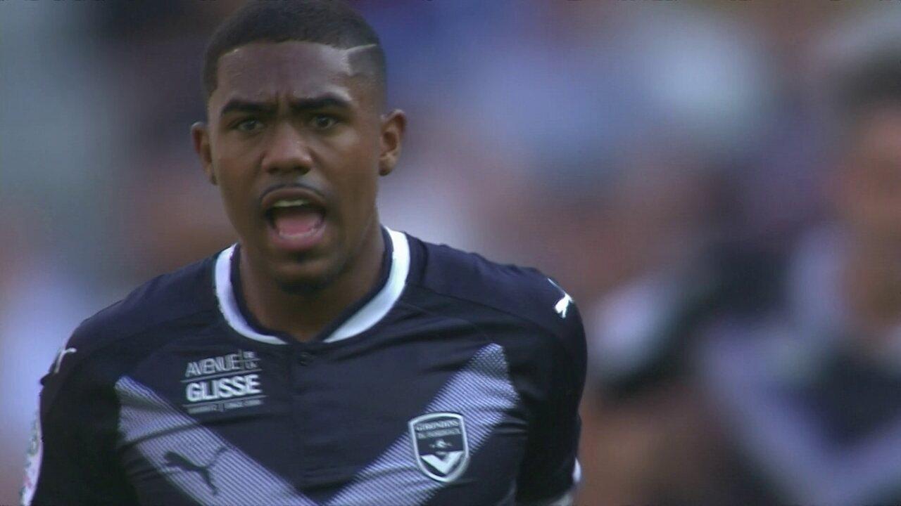 Malcom, ex-Corinthians marca dois belos gols pelo Bordeaux no Campeonato Francês