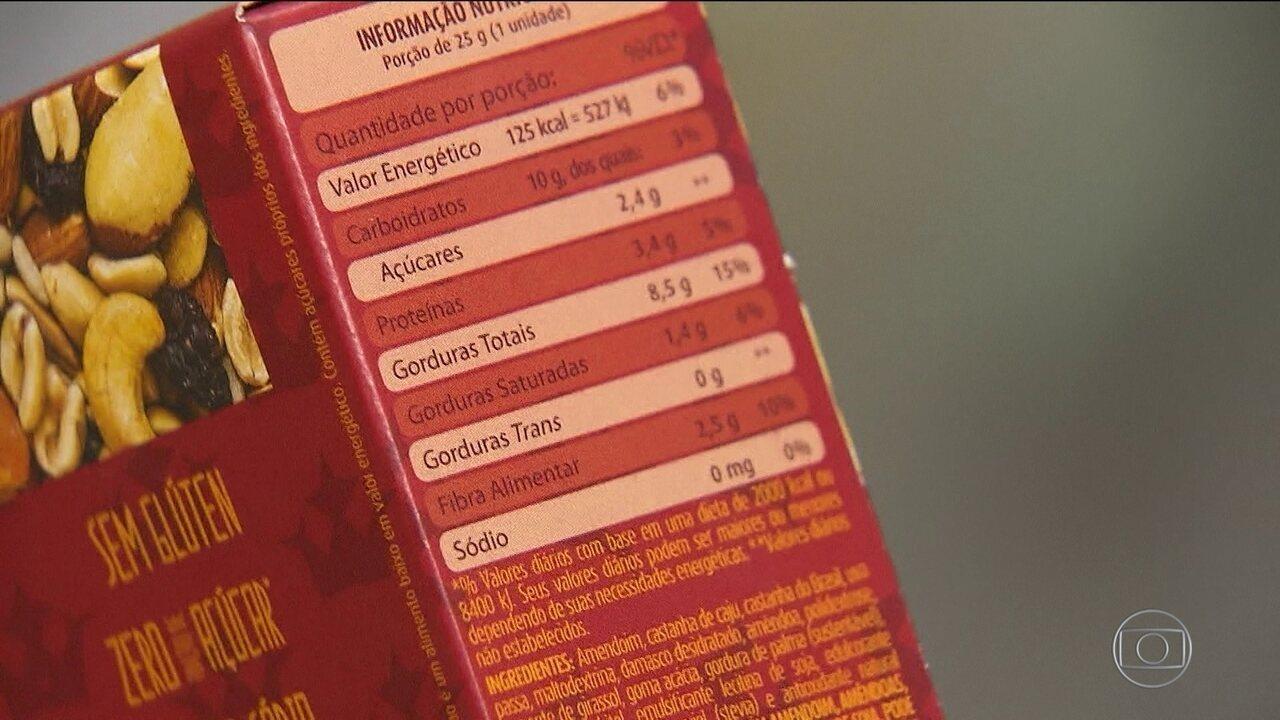 Rótulos de alimentos podem ganhar alerta sobre excesso de sal ou açúcar