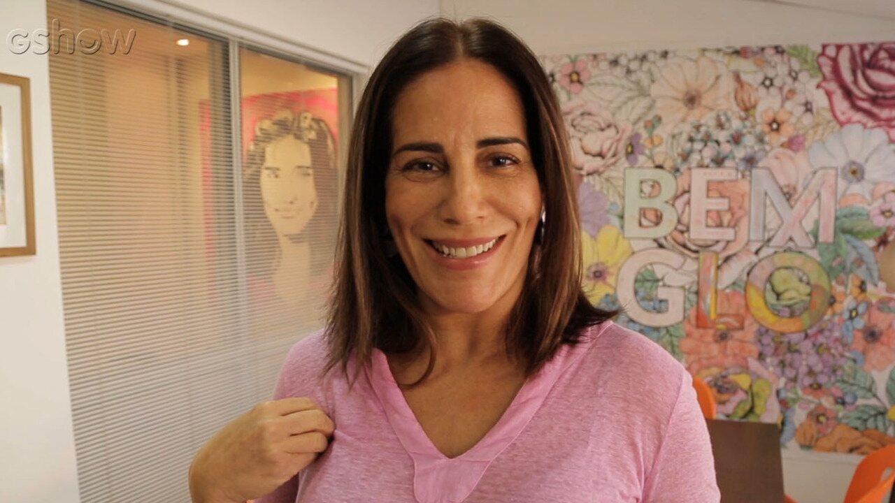 Gloria Pires mostra o lado empresária