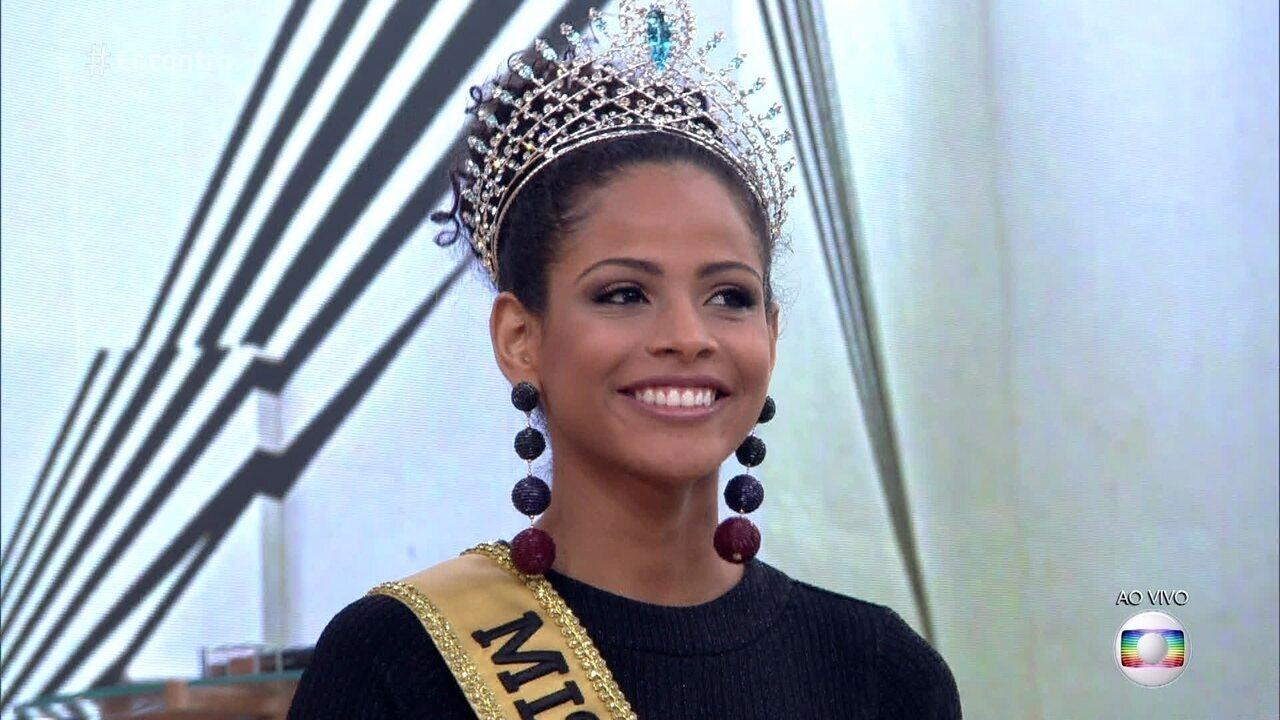 Miss Brasil 2017, Monalysa, Alcântara, fala sobre os ataques racistas que sofreu na internet