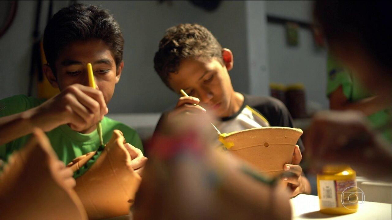 Projeto Verde Vida ajuda a melhorar a vida de crianças e jovens em situação de risco