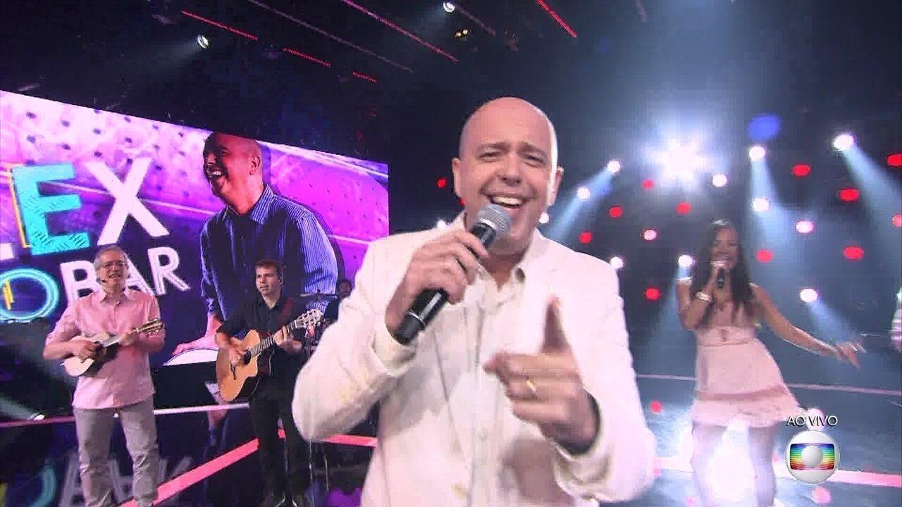 Alex Escobar cantou 'Coisinha Do Pai'