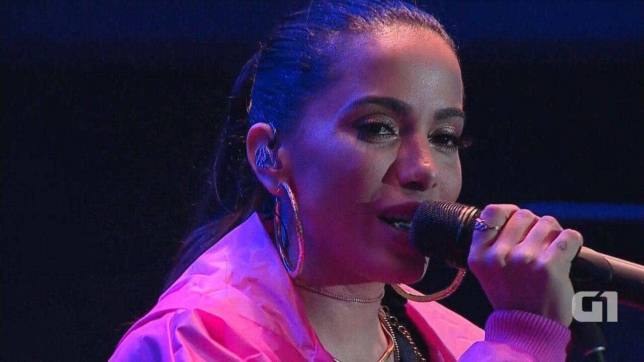Veja os melhores momentos do show de Anitta no Festival de Inverno Bahia 2017