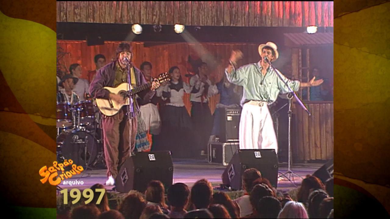 'Galpão Crioulo' relembra gravação de Oswaldir e Carlos Magrão em 1997