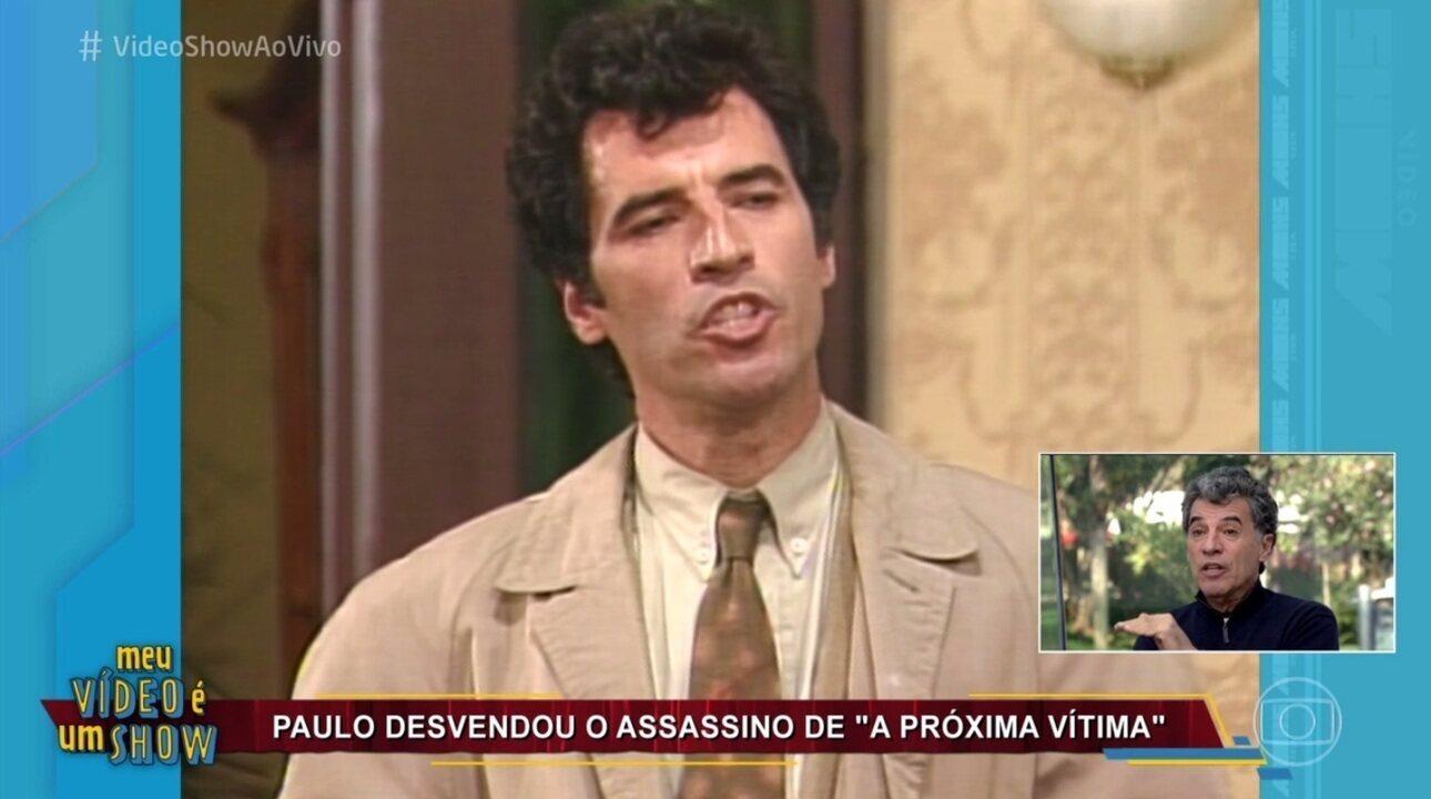 Paulo Betti se diverte ao revisitar carreira