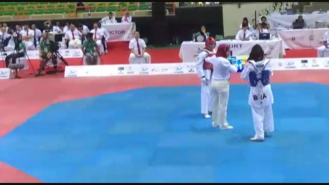 Maria Clara conquista primeira medalha brasileira em um Mundial Cadete