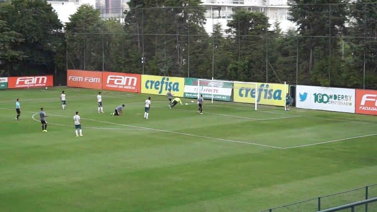 RB Brasil abre o placar na Academia: Maylson