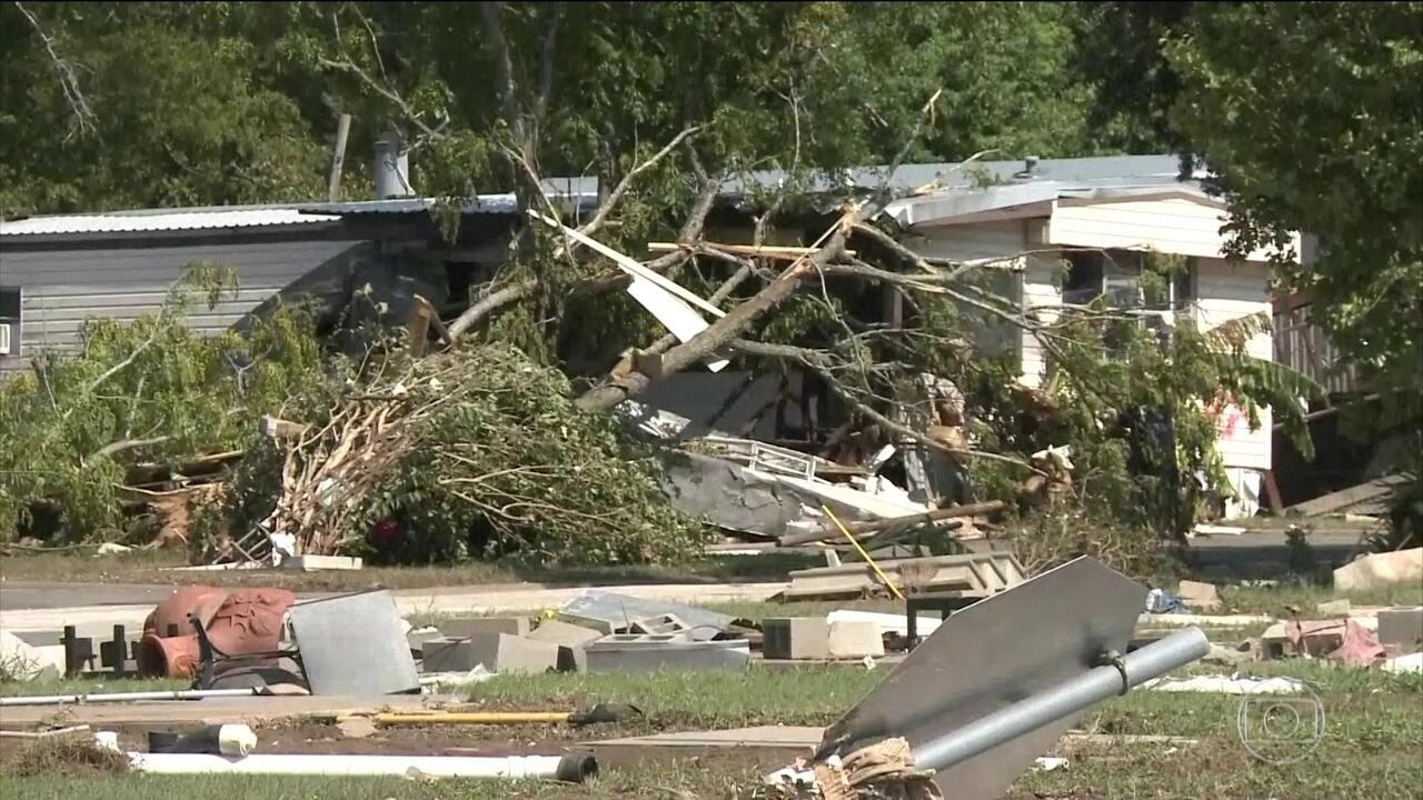 Furacão Harvey deixa 46 mortos pelo sul dos Estados Unidos
