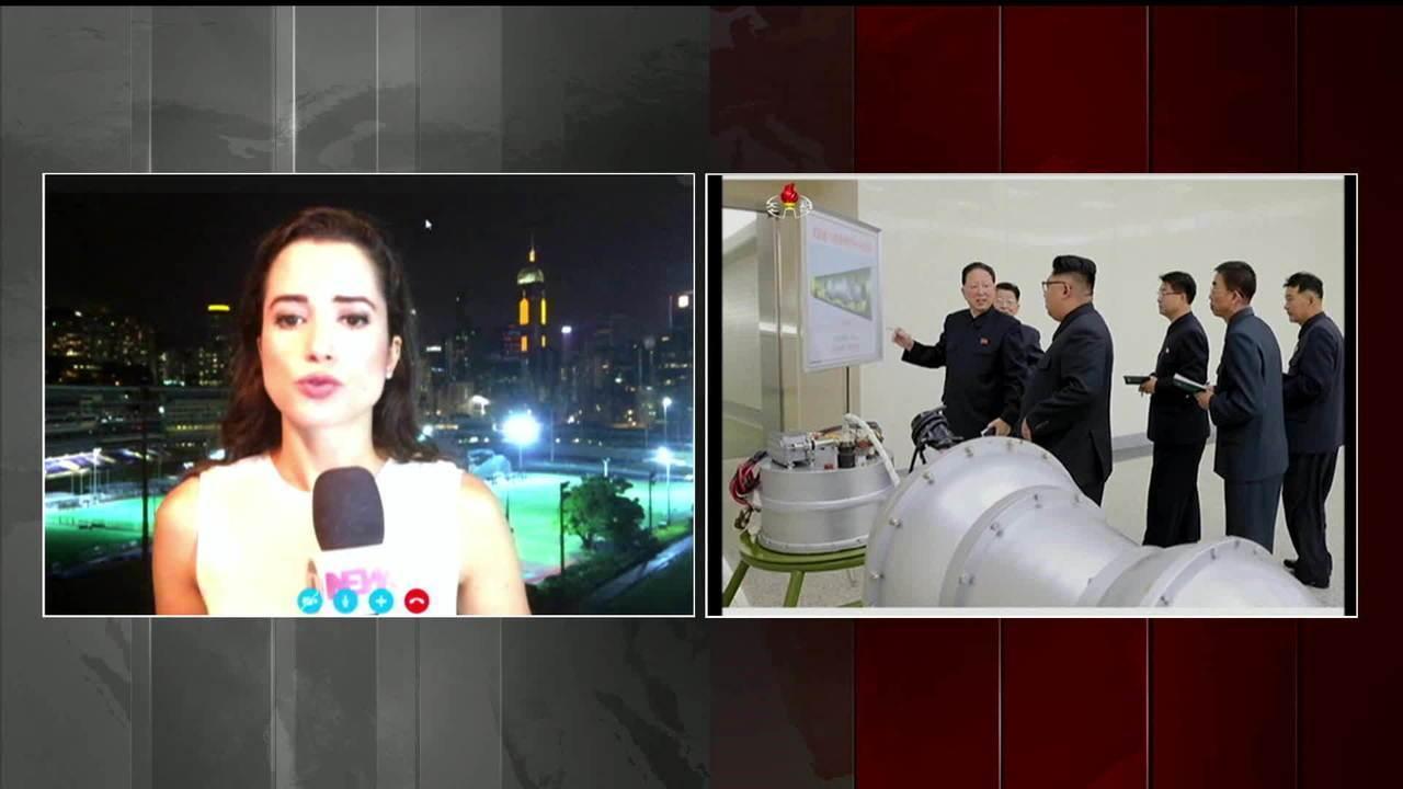 EUA, China e Rússia condenam teste com bomba nuclear da Coreia do Norte