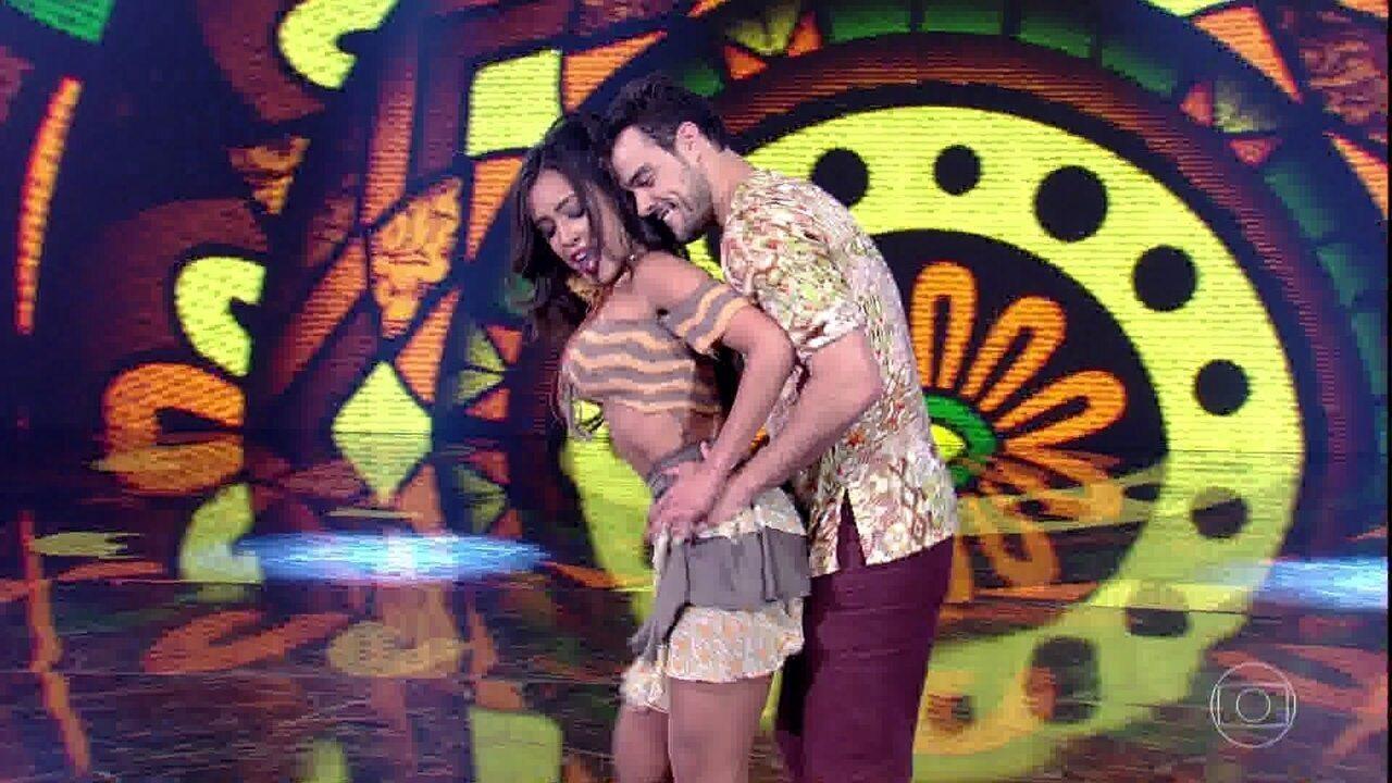 Joaquim Lopes e Tatiana Scarletti mostram muita química no forró