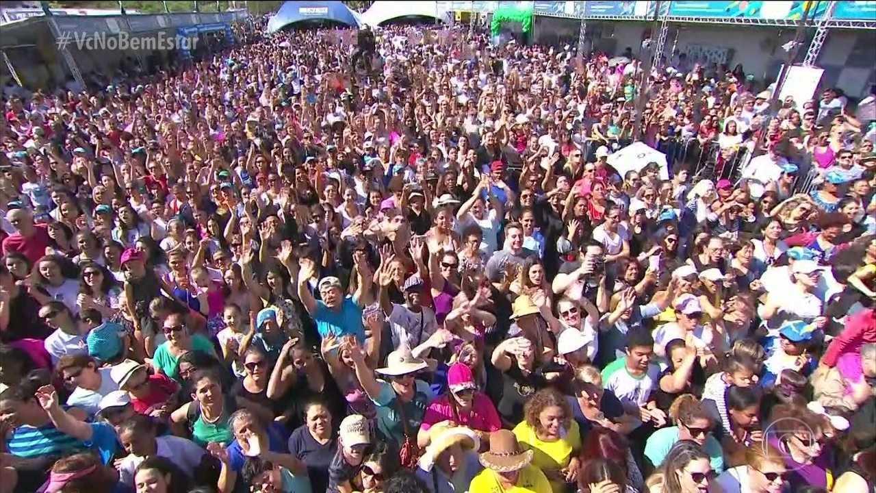 Bem Estar Global leva alegria e saúde ao público de Londrina