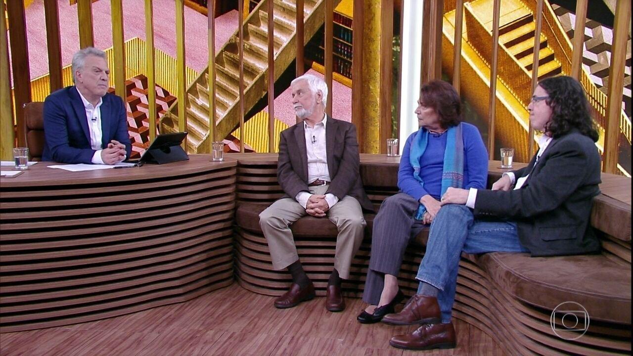 Edmar Bacha, Ana Maria Machado e Geraldo Carneiro explicam para que serve a ABL