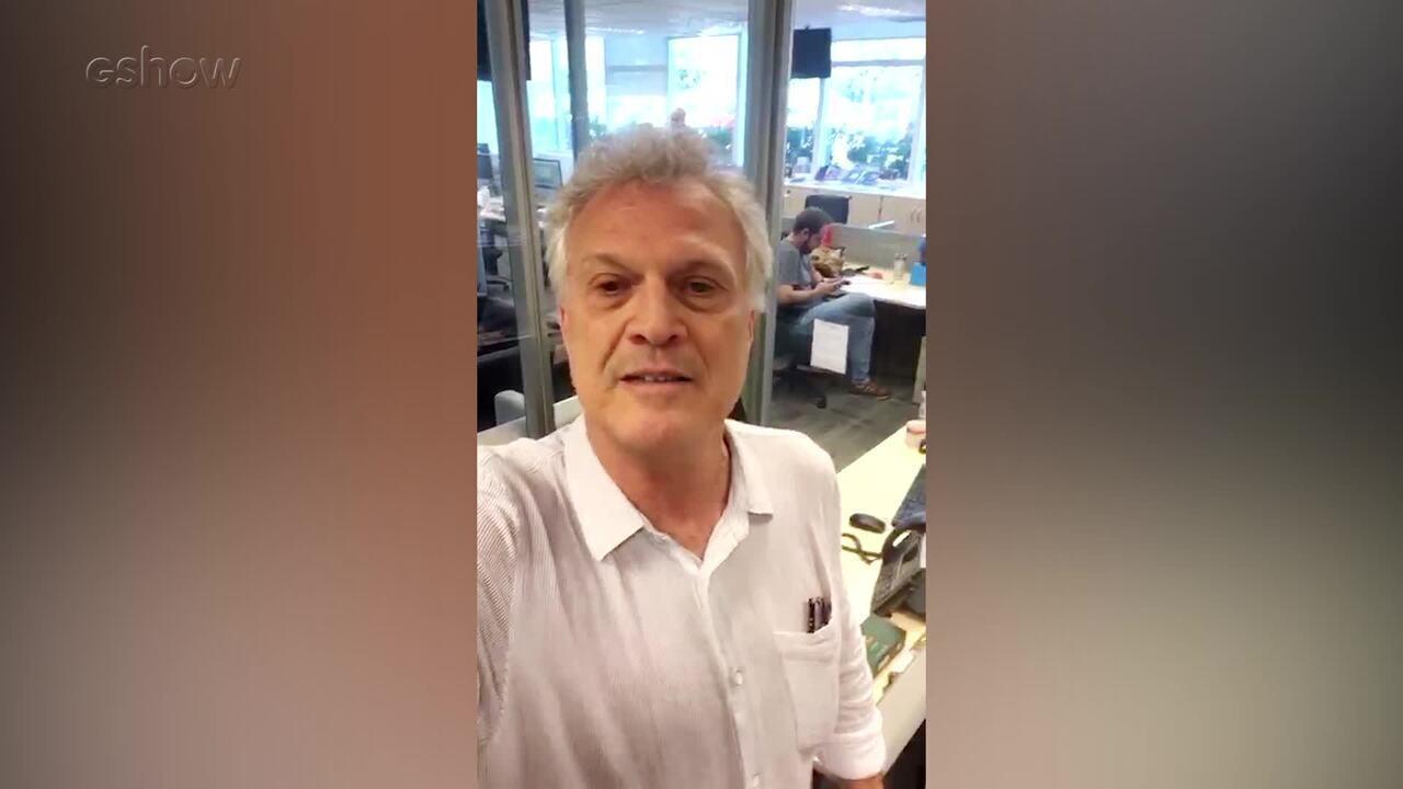 Pedro Bial relembra participação de Rogéria no programa