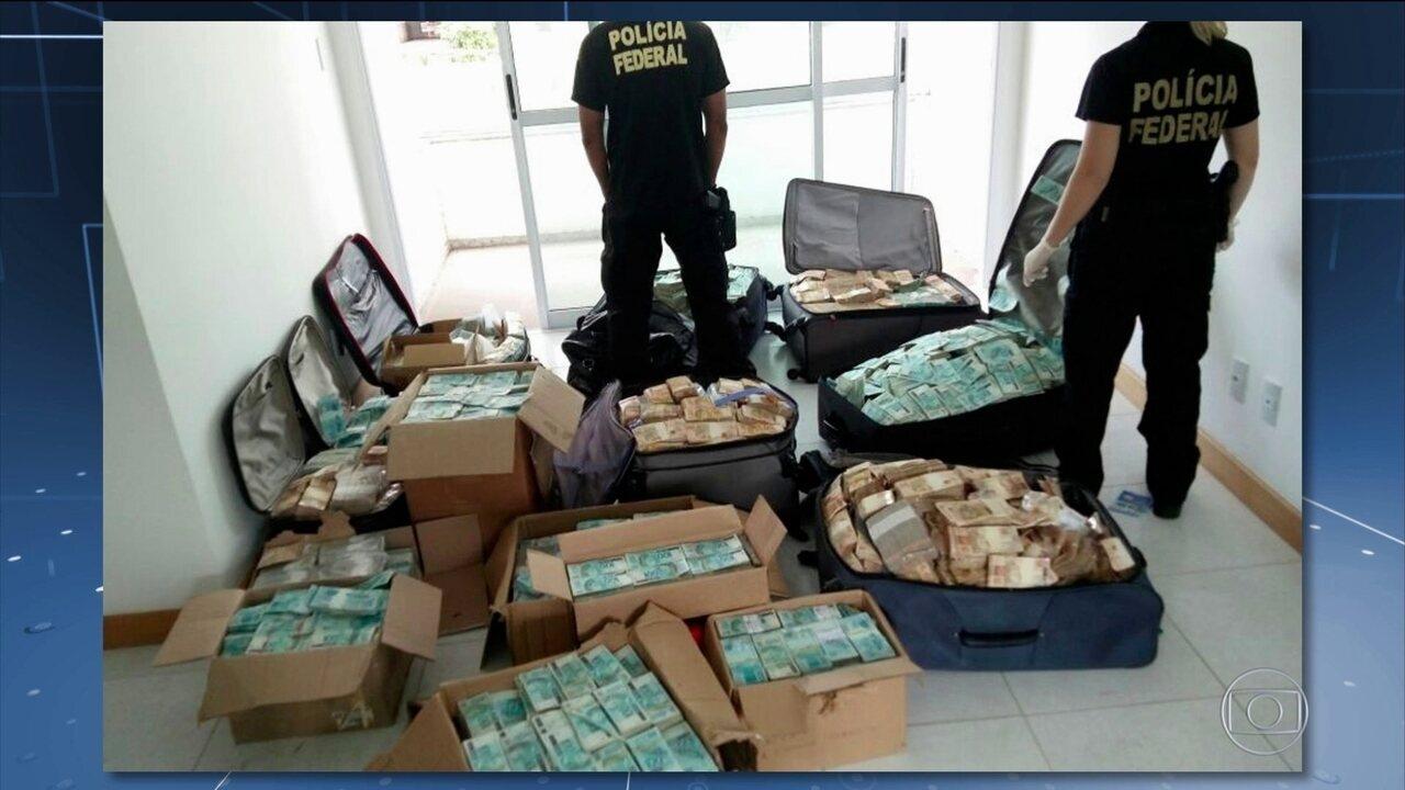 PF apreende R$ 33,5 milhões em dinheiro vivo, quantia recorde