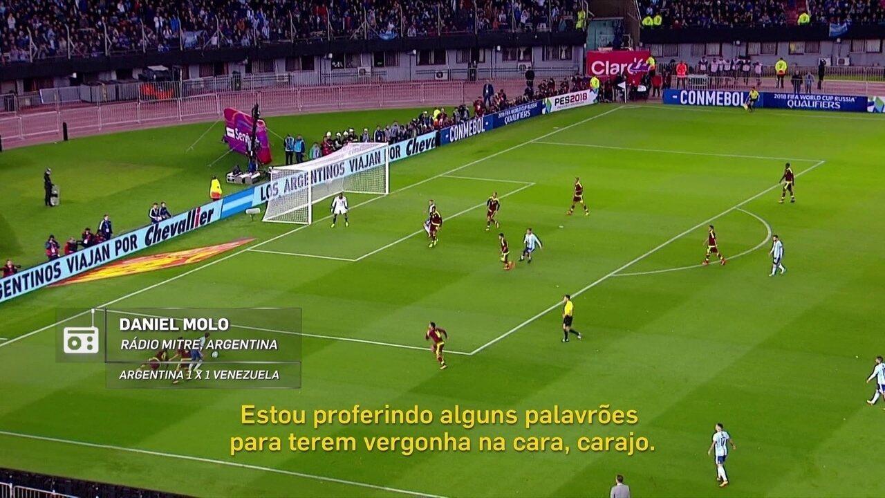 Redação AM: Daniel Molo sofre com empate da Argentina e solta o verbo no ar