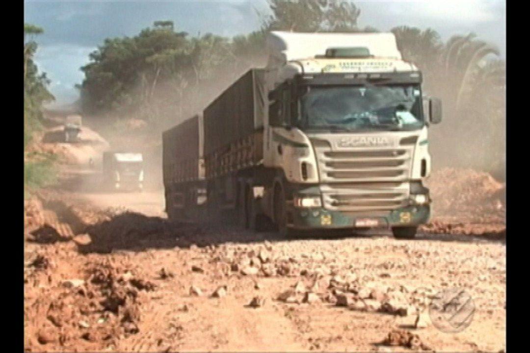 Trecho da rodovia BR-163, que corta o Pará, vai começar a ser asfaltada