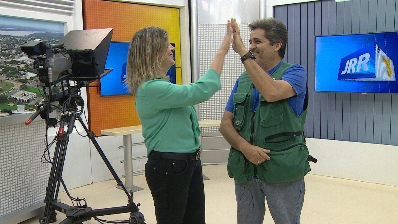 Equipe de reportagem de Roraima relatam os desafios da reportagem
